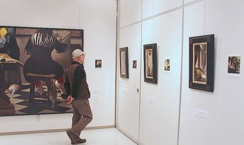 泉谷淑夫展作品の展示風景(5)