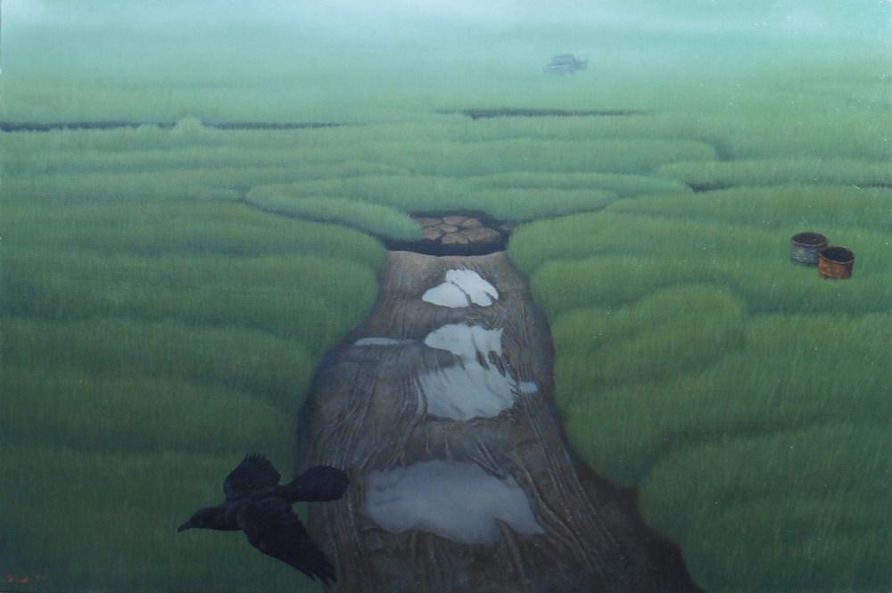 《湿原・霧》